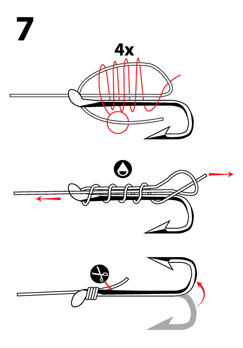 Fishing knots for hooks - photo#5
