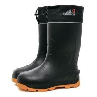 Boots NORDMAN QUADDRO with reinforced sole and spikes (black/yellow)