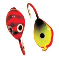 Tungsten mormishka Akara Mussel with an eyelet