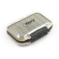 Tackle box Akara MS-0008 4.17x2.99x0.65 in, dual sided