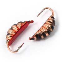 Tungsten mormishka Akara Maggot with an eyelet